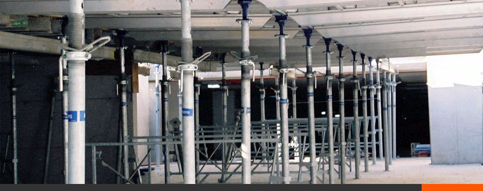 Scaffolding Shoring Posts : Steel post shores for shoring reshoring applications