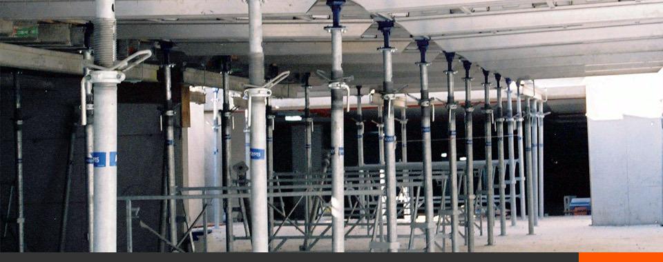Aluminum Shoring Post : Steel post shores for shoring reshoring applications